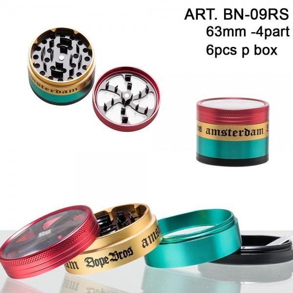 Dope Bros Grinder Lightning-Ø:63mm-4part-6pcs/box