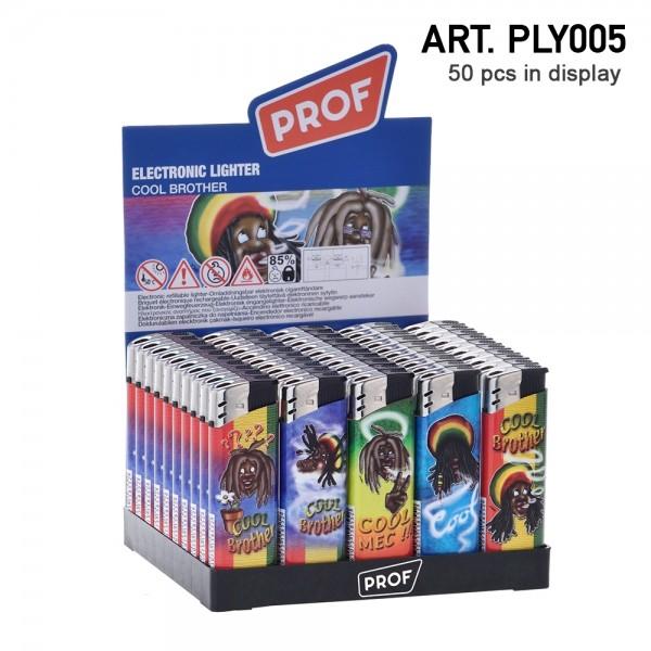Prof | Rasta Lighters 50 pcs in a display