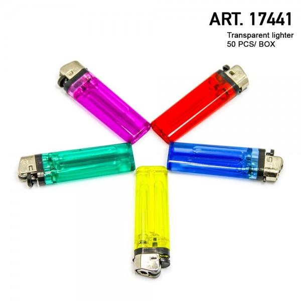Unilite | (11278-01 01) Transparent Lighters 50pcs/Display