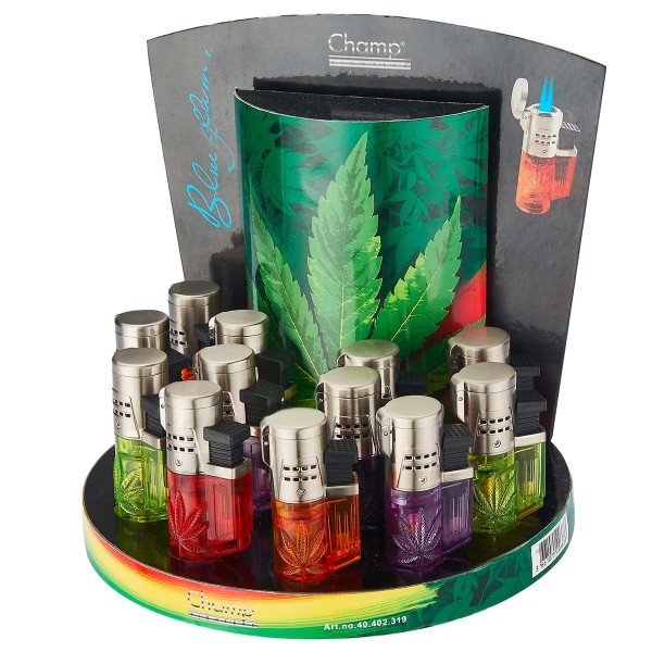 Champ | Torch with 3D Leaf logo and there are 12 pcs in a display