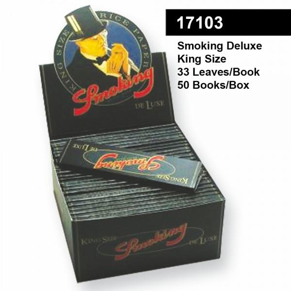 Smoking | DE LUXE KingSize 33 leaves per book 50 books per box