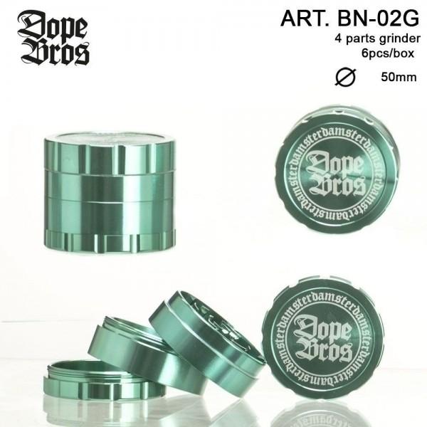 Dope Bros | Grinder- 4part- Ø:50mm- 6pcs/box