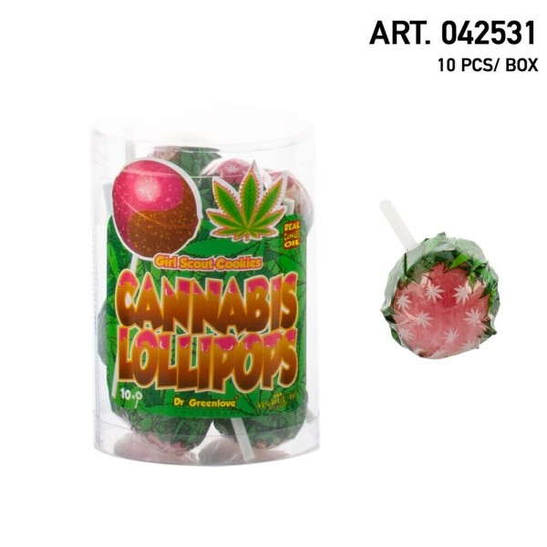 Cannabis | Lollipops Girl Scout Cookies 10 pcs in a box