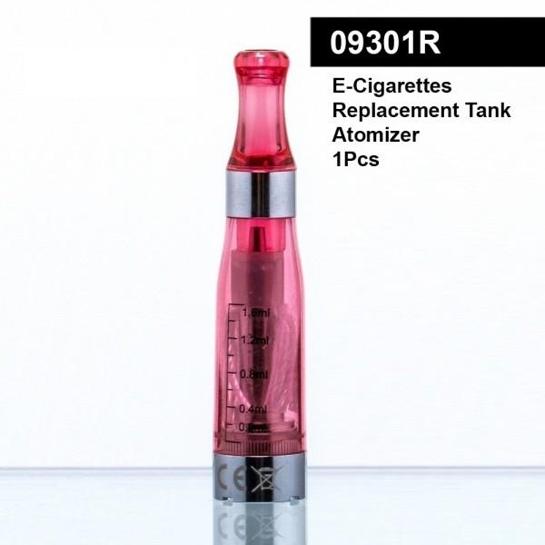 DUD Shisha | Replacement tank atomizer for e-cigarettes CE4 - RED-5pcs-box