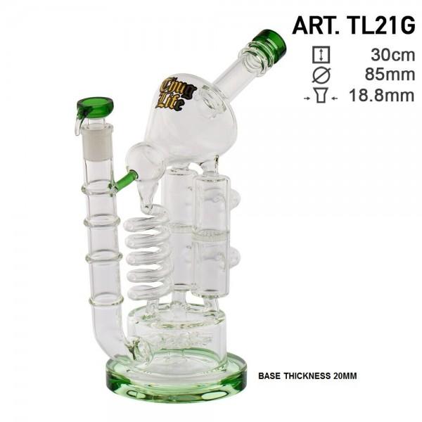 Thug Life | Triple Tower Recycler - H:30cm - Ø:85mm - SG:18.8mm