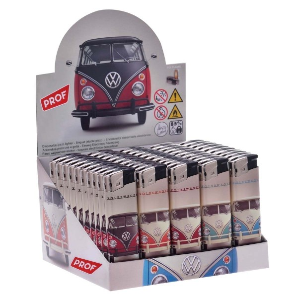 Prof   Volkswagen Electrolighters with different colors and 50 pcs in a display