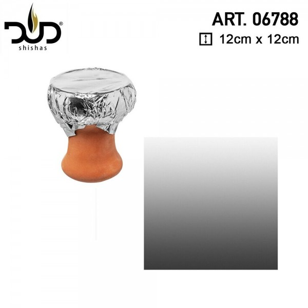 DUD Shisha | Aluminium Shisha Foil High Quality- 100pcs/box