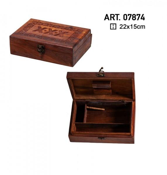 Amsterdam | Big Wooden Amsterdam Box - 22cm x 15cm