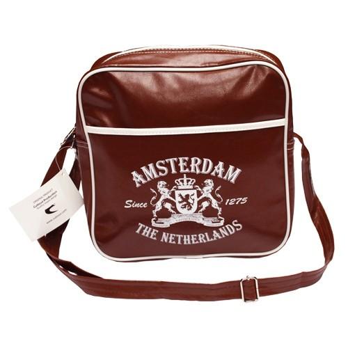 Amsterdam Small Retro Bag Brown