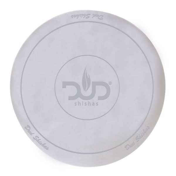 DUD Shisha | Large silicon Pad - Underlay for Shishas- WHITE- Ø:250mm-single piece