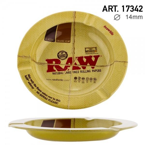 RAW   Metal Ashtray of 14mm Diameter