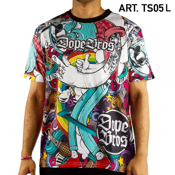 Dope Bros | Amsterdam T-Shirt SIZE-L