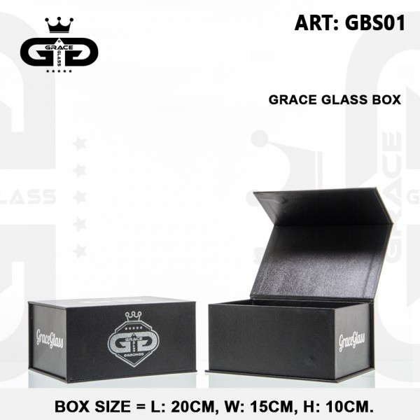 Grace Glass Magnet box (you can make own gift box with diffrence products)