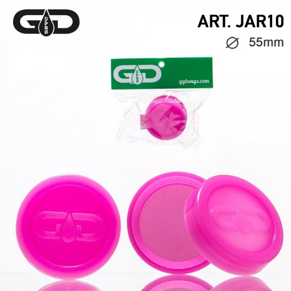 Grace Glass Dabs Silicon Jar- Pink- Ø:55mm