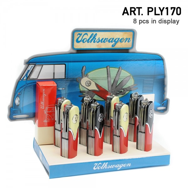 Champ | Volkswagen multi tool with 10 different tools there are 8pcs in a display