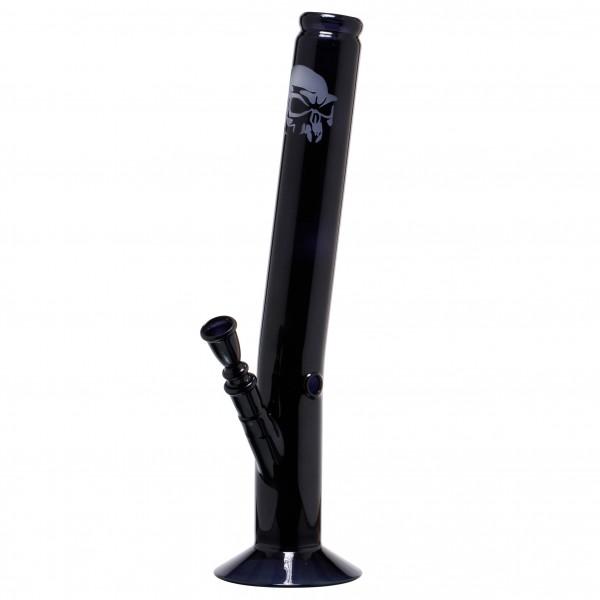 Black Art Hangover Glass Bong - H:42cm - Ø:50mm - Socket:18.8mm