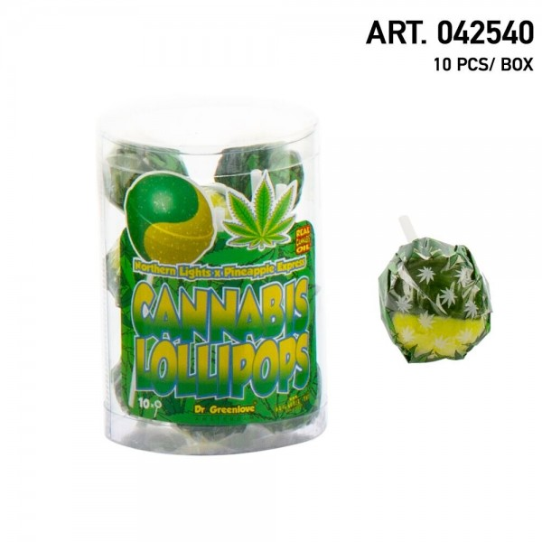 Cannabis | Lollipops Northern Lights with Pineapple Express 10 pcs in a box