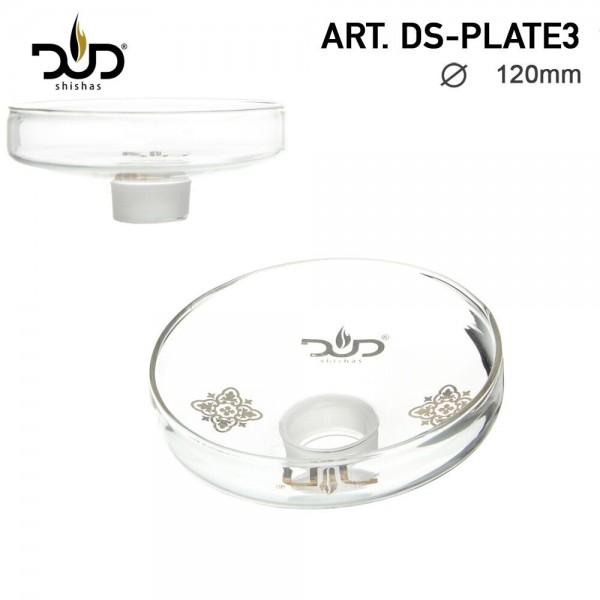 DUD Shisha   Replacement Glass Plate for DS Shisha- Ø:120mm