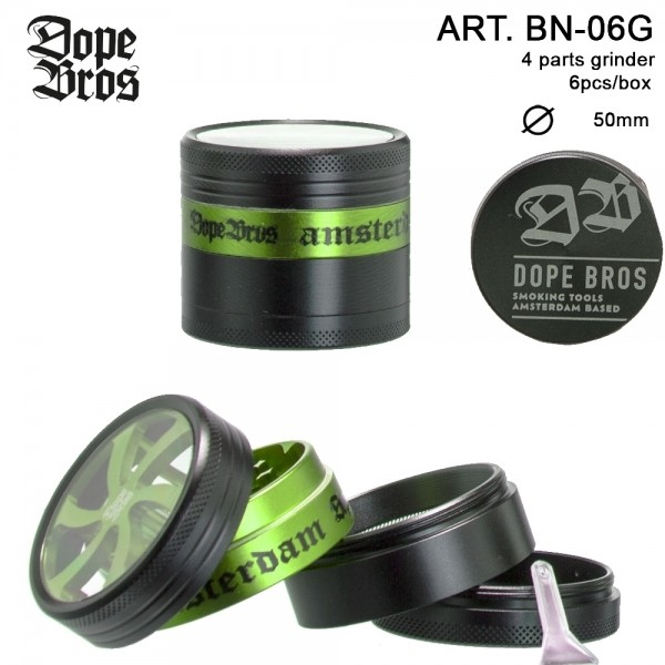 Dope Bros Grinder- 4part- Ø:50mm-6pcs/box