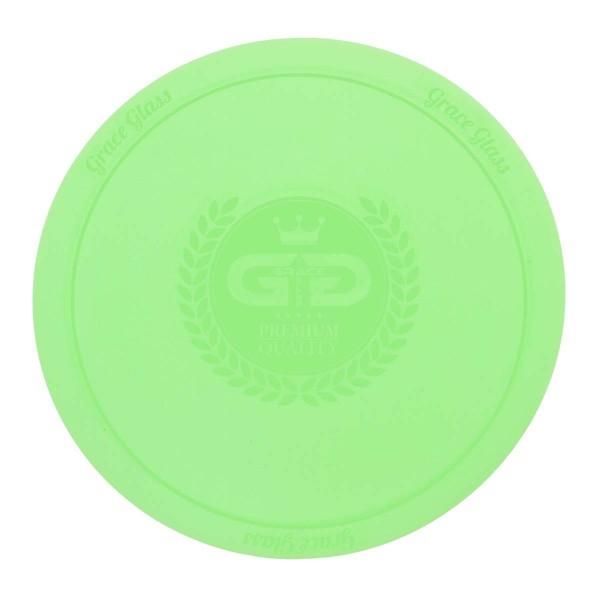 DUD Shisha | Large silicon Pad - Underlay for Shishas- GREEN- Ø:250mm-single piece