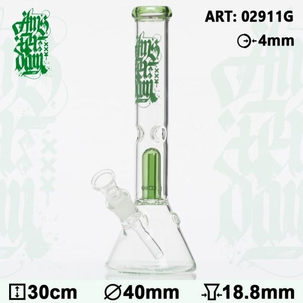 Bong Glass Amsterdam - H:30cm- Ø: 40mm-SG:18.8mm