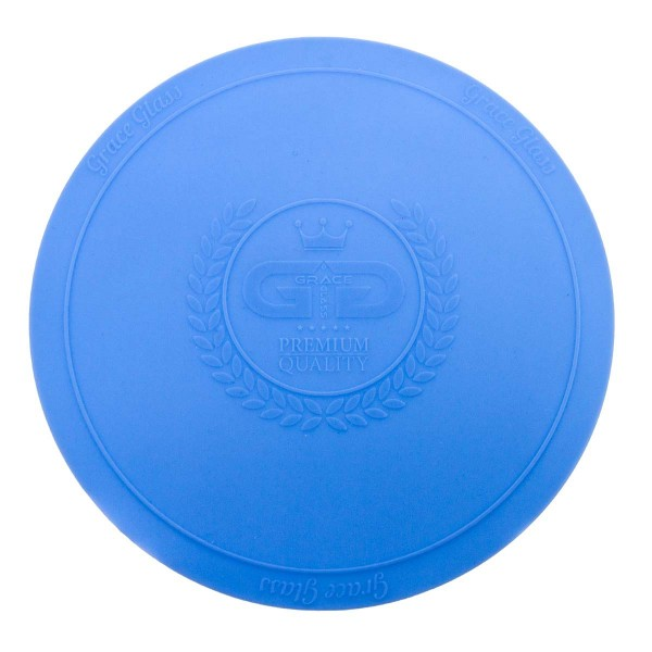 DUD Shisha | Large silicon Pad - Underlay for Shishas- BLUE- Ø:250mm-single piece