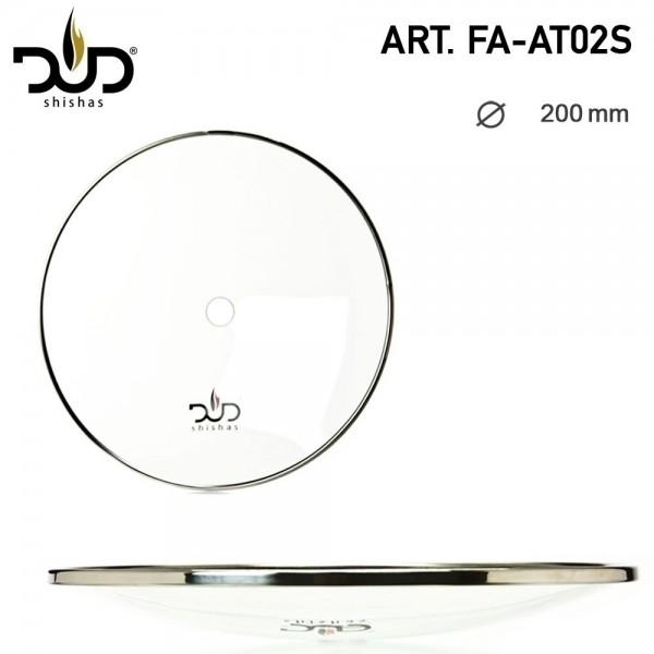 DUD Shisha | Glass Ashplate- Ø:200mm (20cm)
