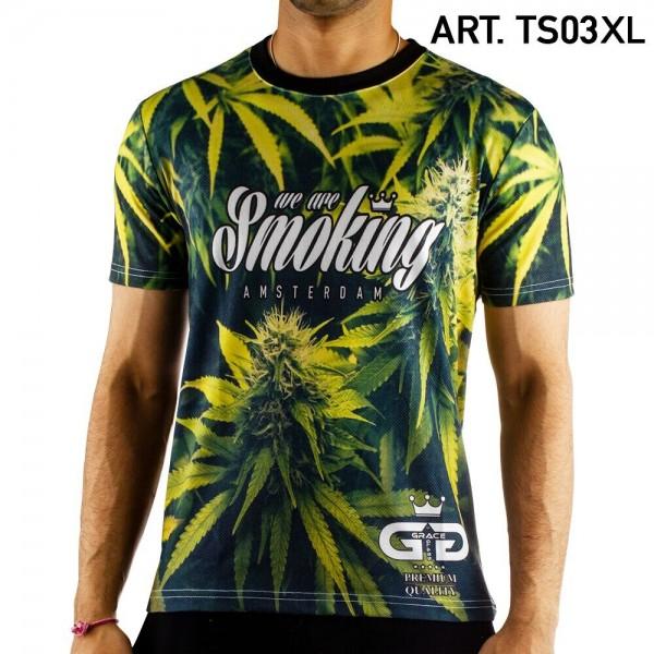 Grace Glass   Leaf T-Shirt SIZE-XL