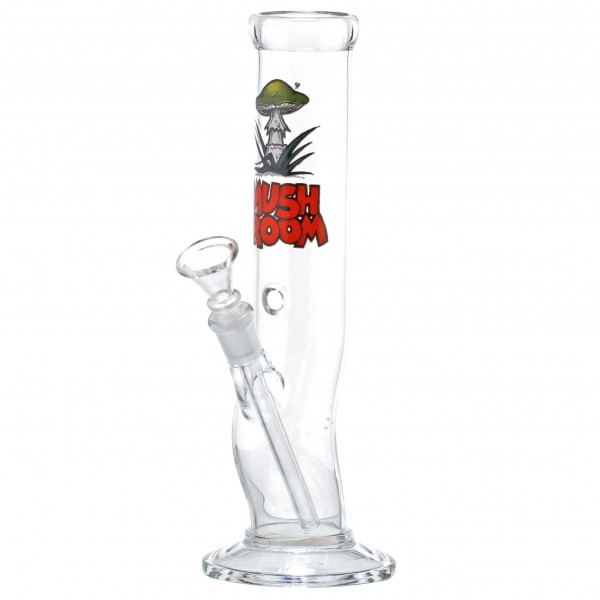 Mushroom | Bolt Glass Bong-H:26cm-Ø:45mm-Socket:14.5mm-8pcs/display, PRICE PER SINGLE PIECE