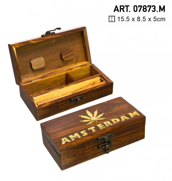 Medium Wooden Amsterdam Tray-15cm x 8cm