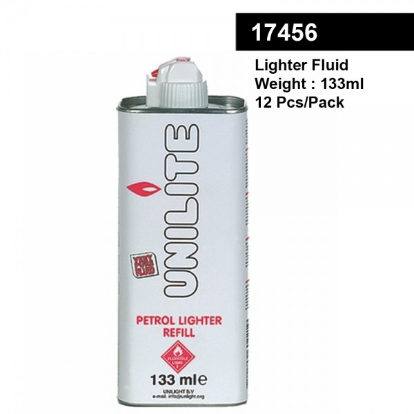 Unilite | Lighter Fluid 133ML 12pcs/pack