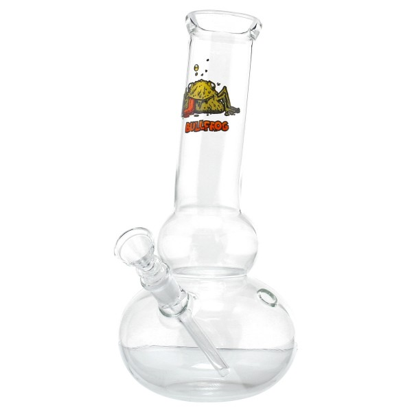 Bullfrog Glass Bong - H:25cm - Ø:45mm - Socket:14.5mm - 15pcs in master carton