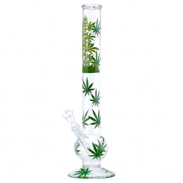 Leaf | Leaf Jhari Bouncer Glass Bong- Ø:50mm- H:45cm- Socket:18.8mm
