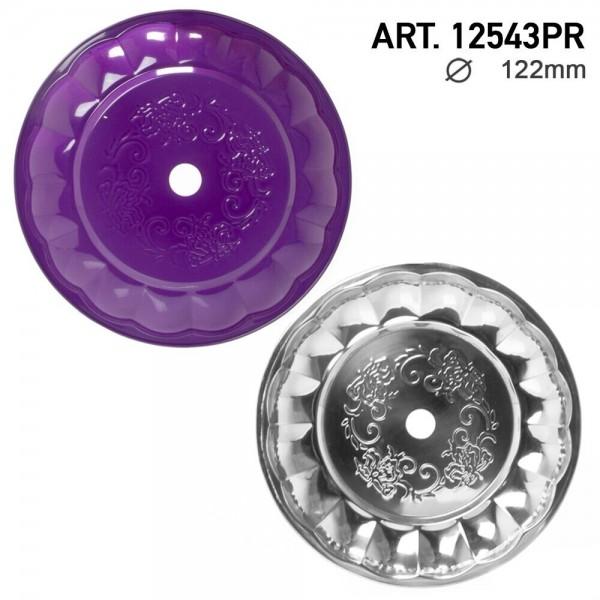 DUD Shisha | Ashplate- Purple-Silver -22cm