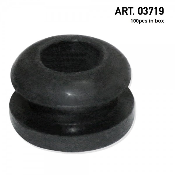 Amsterdam | Rubber Ring Black- minimum order 100pcs per display