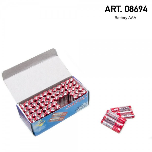 USA Wight | Battery AAA display with 3 batteries inside
