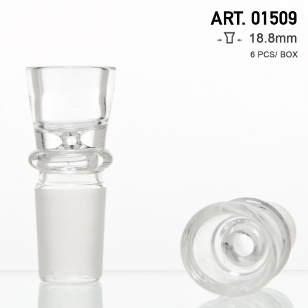 Amsterdam | Glass Bowl Extra Thick - SG:18.8mm with Small Hole - 6pcs in display