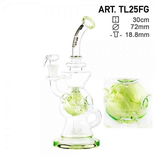 Thug Life | Recycler Series Green - H:30cm - SG:18.8mm - Ø:72mm