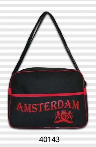 Amsterdam Soft Retro Black & Red