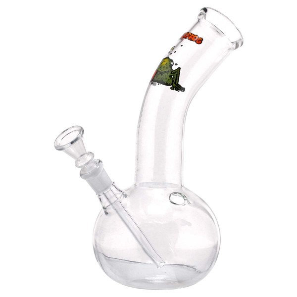 Bullfrog Glass Bong - H:23cm - Ø:40mm - Socket:18.8mm - 35pcs in master carton