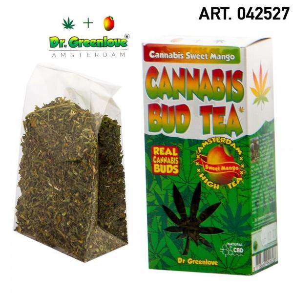 Cannabis   100% Cannabis Bud Tea Mango - Hemp Bud Tea made with 100% real cannabis buds!