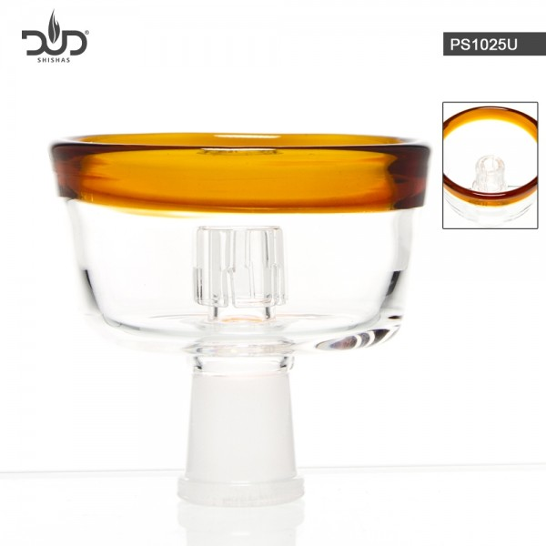 DUD Shisha | Replacement Glass Bowl for DUD SHISHA PS1001U, PS1003U, PS1004U, PS1005U, PS1006U-UMBER