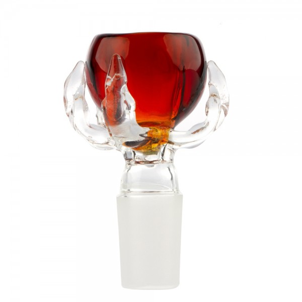 Grace Glass | Bowl Dragon Paw - Umber - SG:18.8mm - 12pcs in a display