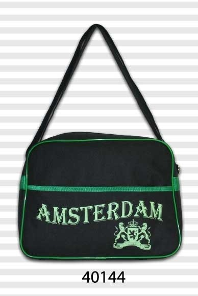 Amsterdam Soft Retro Black & Green