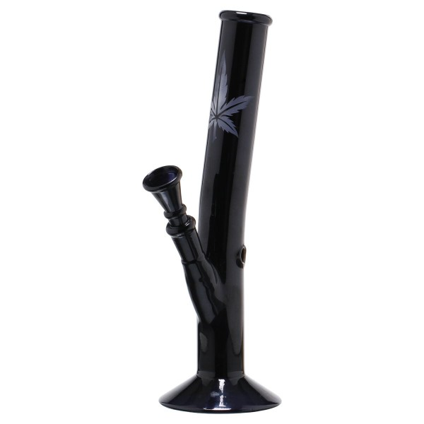 Black Art | Hangover Glass Bong- H:26cm- Ø:32mm- Socket 14.5mm