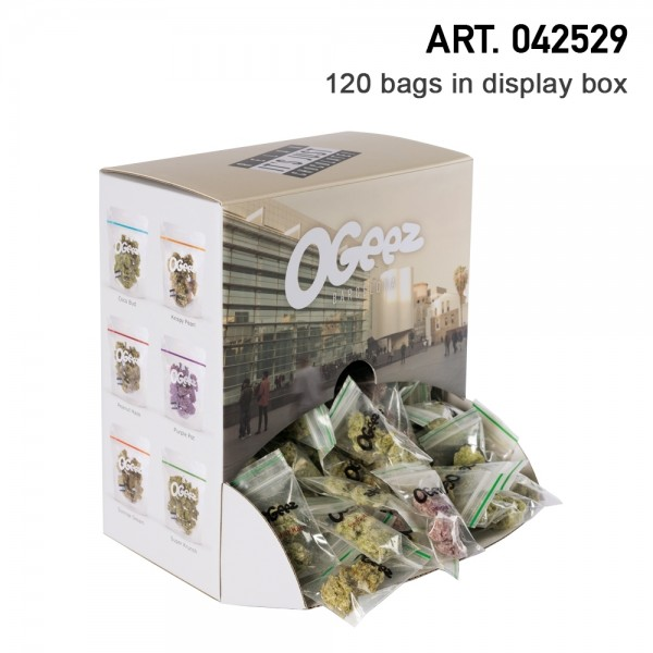 Ogeez   Krunchbox 120 Bags Hemp Chocolade