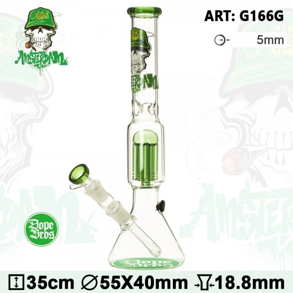 Dope Bros | SKULL Series | Amsterdam Green Edition