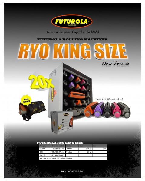 Futurola King Size Rolling Machines 20pcs/Display