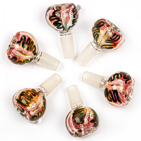 Amsterdam   Oval Bowls - Mixed - SG:14.5mm - 6pcs in display