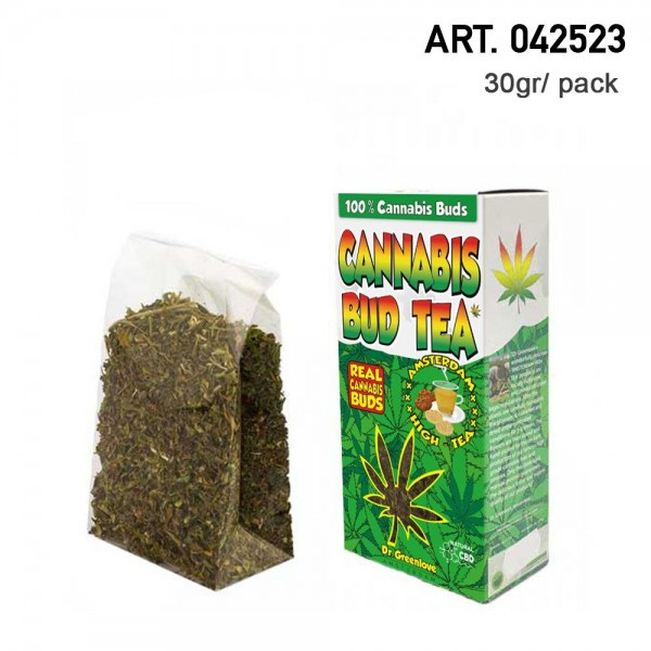 Cannabis   100% Cannabis Bud Tea - Hemp Bud Tea made with 100% real cannabis buds!